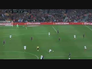 Футбол » Испания. Ла Лига » Барселона - Севилья » 13' Гол - Месси Л.