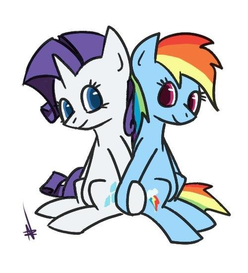 Журнал Winx - Pony +моя маленькая пони картинки