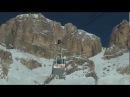Freeride al Sass Pordoi - Val di Fassa