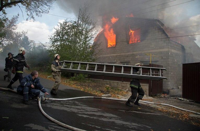 Будни пожарных