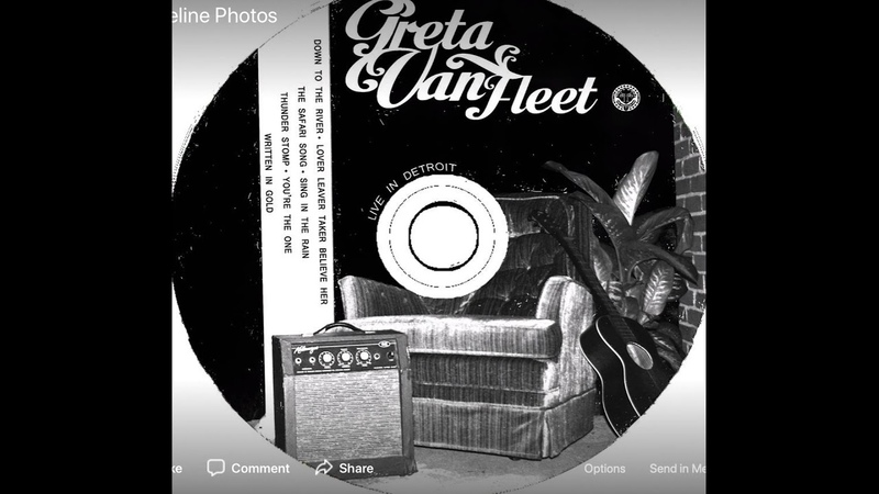 Greta Van Fleet - Written In Gold - Live in Detroit 2014