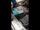 Чечня Лада Приора - залив масла SpeedX Supreme 10w-40