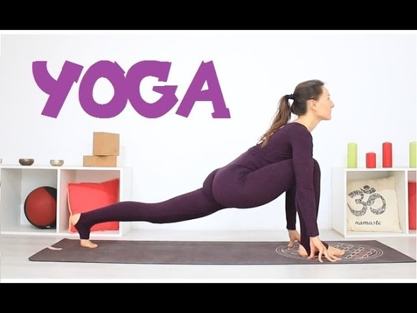 Yoga para ACTIVAR la ENERGIA - yoga dinámico en 30 min en casa   MalovaElena