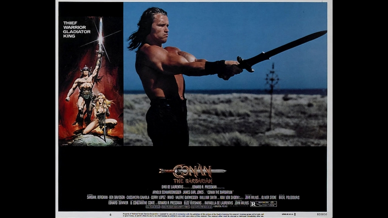 Конан варвар 1982 трейлер HD