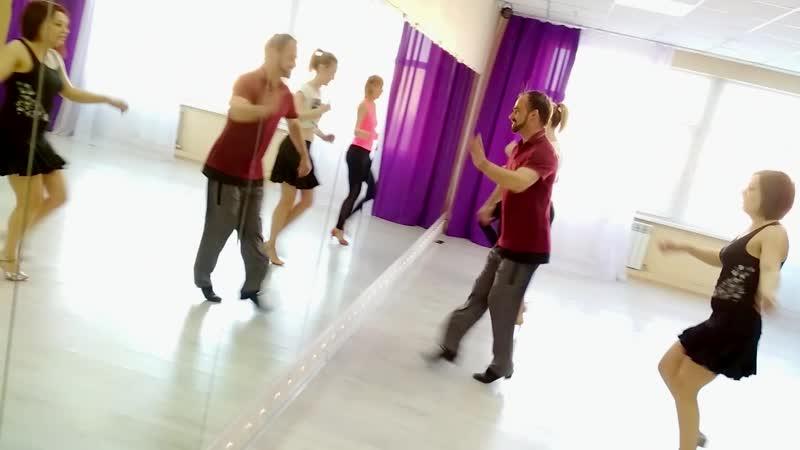 Latina Solo | Латина Соло в Омске, тренировка 9.12.18 Танцевальный центр PlatinumFD, Omsk