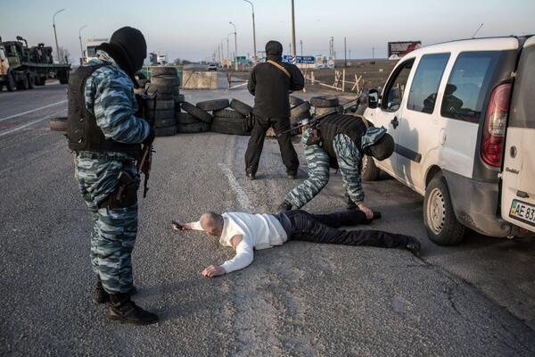Россия установила границу между Крымом и Украиной - Цензор.НЕТ 4564