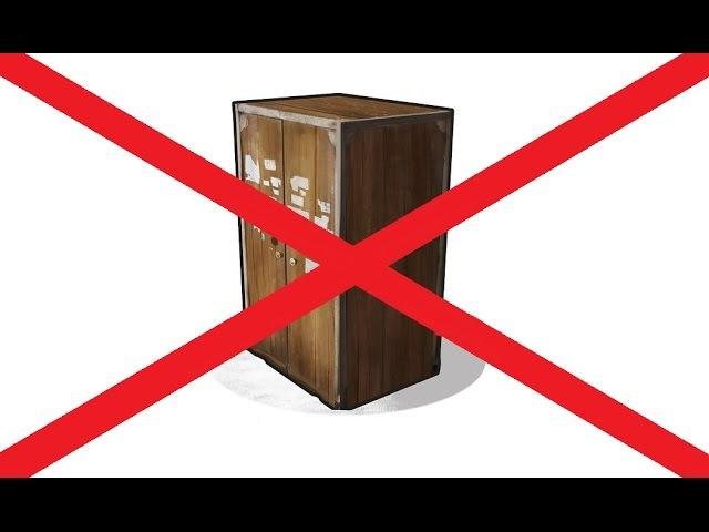 RUST - Шкаф больше не блочит! Пристройки официально разрешены!