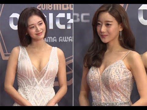 김재경-오승아, 레인보우 출신의 '치명적인 섹시미 발산' (MBC연기대상)