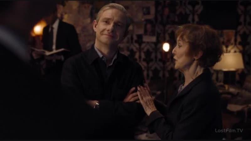Вам он прощает, что вы идиот (Sherlock)