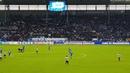 Protestaktion von Block U gegen Montagsspiele Magdeburg Bochum 2 11 2018