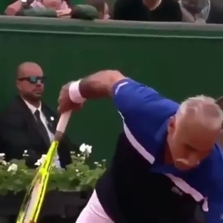 Tennis trolling