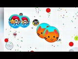 SOLO GAMEPLAY IN AGAR.IO MOBILE #6 New skin 29.09.2018 !