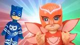 Новые Герои в масках 2 игрушки. Игра одень куклу #Алет #Кэтбой #Геко Куклы для детей