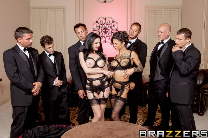 The Secret Soiree: Six-Man Gangbang Veronica Avluv & Bonnie Rotten