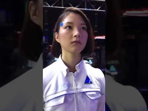 Реалистичный андроид из Японии