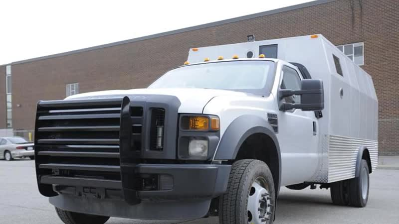 INKAS® Armored Ford F550 CIT