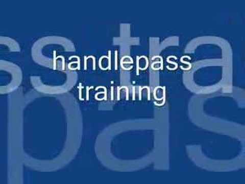 Backyard handlepass and slider training