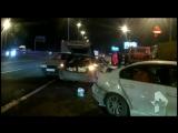 Появилось первое видео с места массовой аварии на МКАД