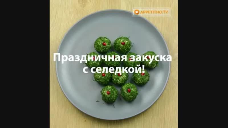 Подборка салатов на праздничный стол