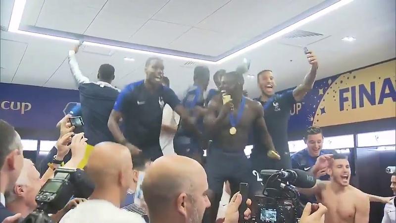 Футболисты победители спели Путин хэй хэй хэй