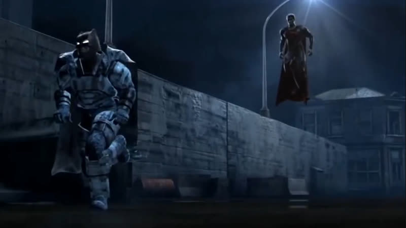Бэтмен против супер мэн