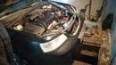 Замена радиатора охлождения на шевроле лачетти 1.8 часть-2