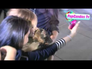Chloe Grace Moretz greets fans at Carrie Premiere at Arclight in Hollywood