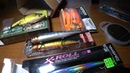 Распаковка Megabass Ito Shiner Jackall Rerange и Giron Daiwa Morethan X Roll по заказу Fmagazin