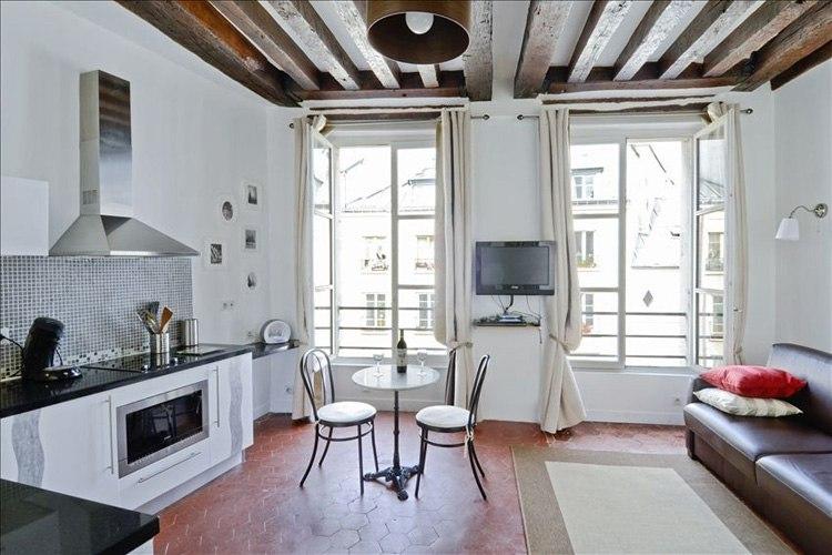 Квартира-студия 27 м в Париже / Франция.