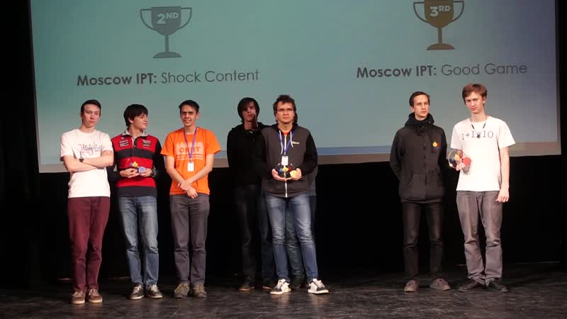 Moscow International Workshop ICPC 2018