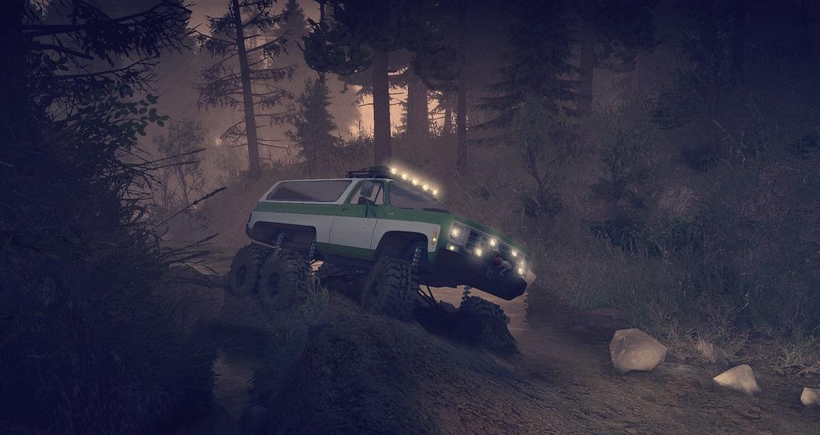 1975 Chevy K5 Blazer Equipped 6x6 1.0 для Spintires - Скриншот 2