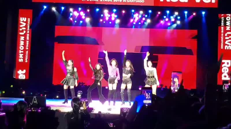 180120 SMTOWN in Chile, Day2: Red Velvet - Red Flavor
