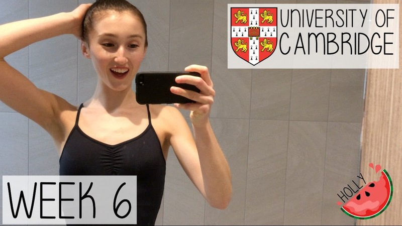 WEEK 6 AT CAMBRIDGE UNIVERSITY | HOW I STAY ORGANISED, GROCERY HAUL DANCE AUDITIONS