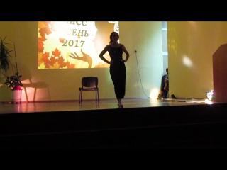 Выступление Гатауллиной Диляры-творческий номер