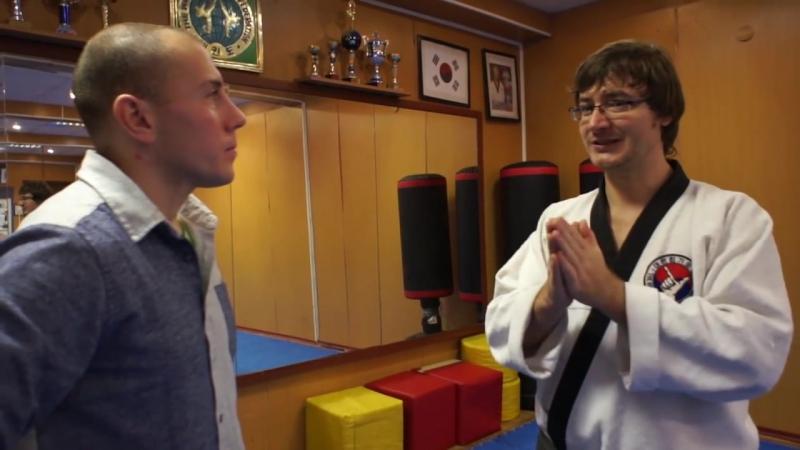 Тхэквондо с Дмитрием Ложенским 1 я часть высокие удары ногами и зрелищность тхэквондо