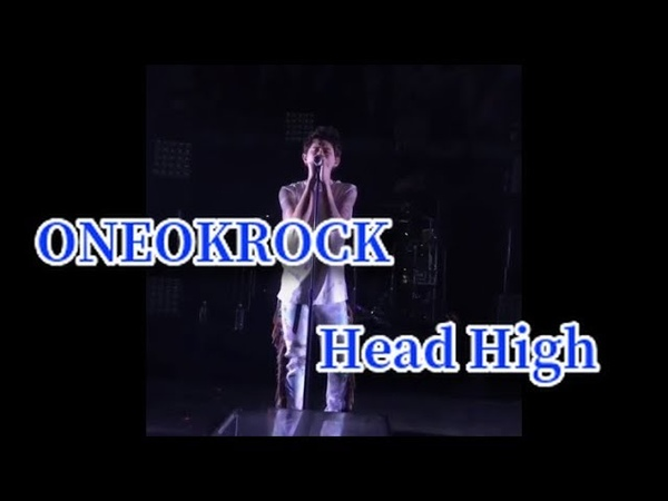 【ONEOKROCK】Eye of the Storm North America tour 2019 Head High