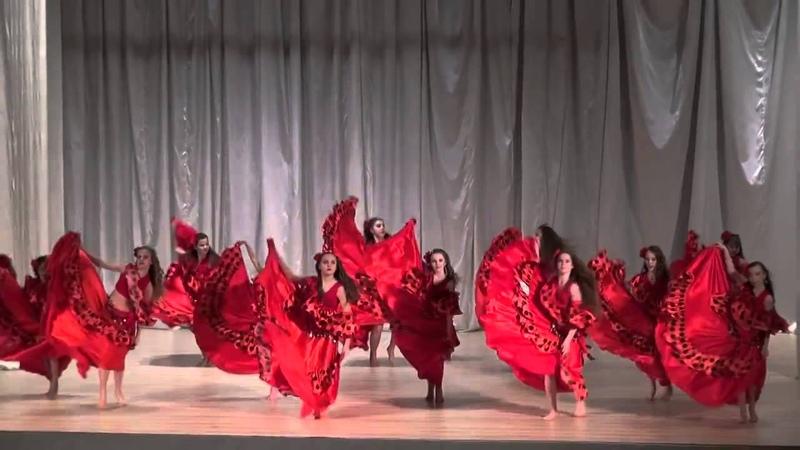 1 местоТанцевальная школа 'Мир Танца' Севастополь Восточная Феерия г.Днепропетровск