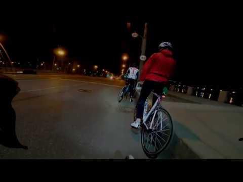 Ночью по Петербургу от 1го лица с Дерзкими педалями