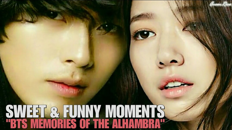 Hyun Bin ❤ Park Shin Hye - Sweet And Funny Moments [BTS MEMORIES OF THE ALHAMBRA]