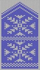 Схемы для вязания варежек с орнаментом от МАРУСИ!