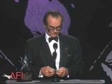 Jack Nicholson accepts the AFI Life Achievement Award in 1994