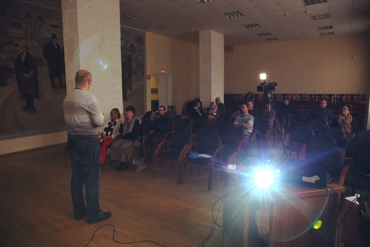 А. Андреев рассказывает о проекте
