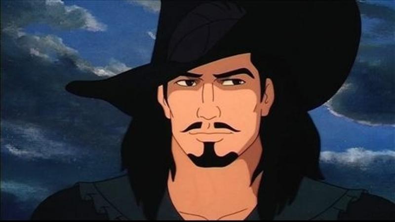 Чёрный корсар. (Чётный пират). 1998 г. 1-13 серии