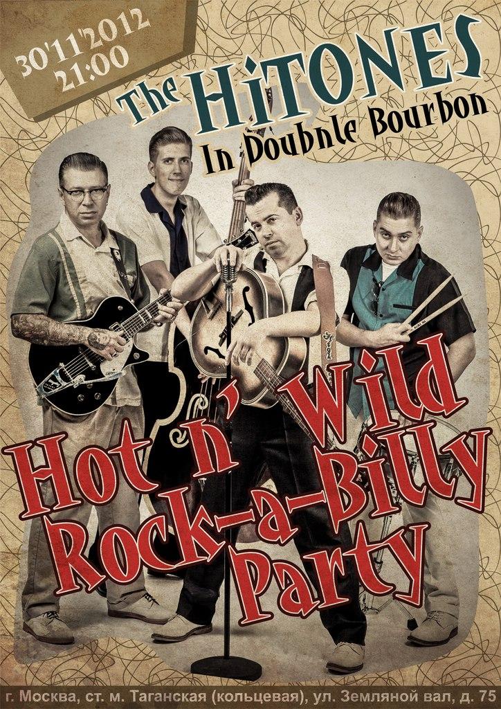 30.11 The HiTONES -Double Bourbon!!!