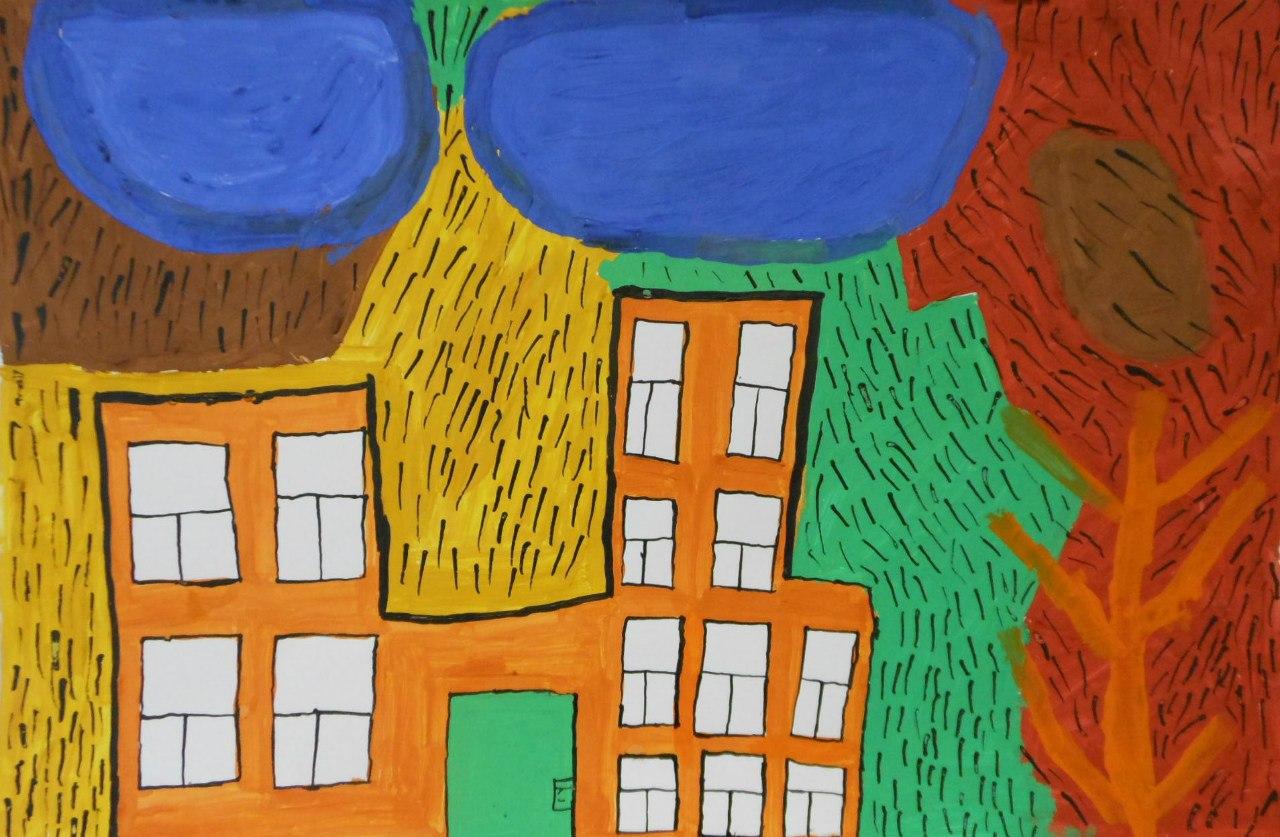 "Дмитрий Бутин, ""Дождь над городом"", 2011 г., Арт-студия ""Перспектив"""