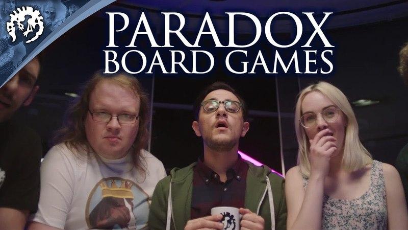 Introducing: Paradox Board Games!