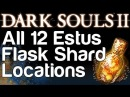 All 12 Estus Flask Shard Locations - Dark Souls 2