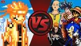 NARUTO vs THE WORLD! (Naruto vs Goku, Saitama, Sonic, Luffy, Ichigo, Aang &amp More!) Animation Rewind
