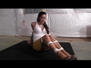 Dads new girlfriend found herself tied up and gagged