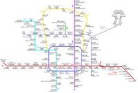 Пекинский метрополитен - транспортная система Пекина, столицы Китая, действующая с 1981 года (первая в стране).